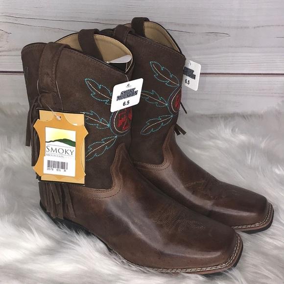c21f83932a2 Smoky Mountain Boys Thunderbird Western Boots NWT NWT